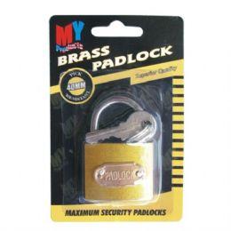 72 Units of Lock Brass 40mm - Padlocks and Combination Locks
