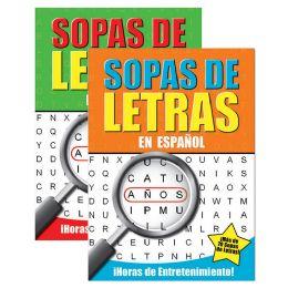 48 Units of Crucigrama-Sopas De Letras II - Crosswords, Dictionaries, Puzzle books