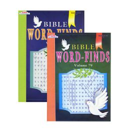 48 Units of KAPPA Bible Series Word Finds Puzzle Book - Crosswords, Dictionaries, Puzzle books