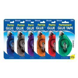 12 Units of 8 Mm X 8 M Permanent Glue Tape - Glue Office and School