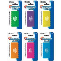 12 Units of Magnetic Whiteboard Eraser W/ Foam Comfort Grip - Foam & Felt