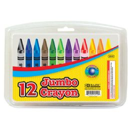 24 Units of 12 Color Premium Quality Jumbo Crayon - Chalk,Chalkboards,Crayons