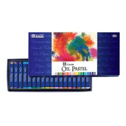 12 Units of 18 Color Oil Pastels - Art Paints