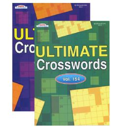 48 Units of KAPPA Ultimate Crossword Puzzle Book - Crosswords, Dictionaries, Puzzle books