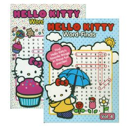 48 Units of HELLO KITTY Word Finds Puzzle Book - Crosswords, Dictionaries, Puzzle books
