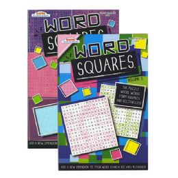 24 Units of KAPPA Word Squares Word Finds Puzzle Book - Digest Size - Crosswords, Dictionaries, Puzzle books