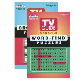24 Units of KAPPA TV Guide Word Finds & Crossword Puzzles Book - Digest Size - Crosswords, Dictionaries, Puzzle books