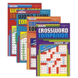 24 Units of KAPPA Companion Series Puzzle Book - Digest Size - Crosswords, Dictionaries, Puzzle books