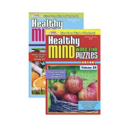 336 Units of KAPPA Healthy Minds Words Finds Puzzle Book - Digest Size - Crosswords, Dictionaries, Puzzle books