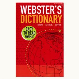 24 Units of WEBSTER English-English Dictionary - Crosswords, Dictionaries, Puzzle books