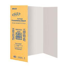 """24 Units of 36"""" X 48"""" White TrI-Fold Corrugated Presentation Board - Poster & Foam Boards"""