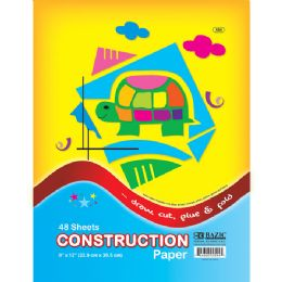 "48 Units of 48 Ct. 9"" X 12"" Construction Paper - Paper"