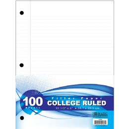 36 Units of C/R 100 Ct. Filler Paper - Paper