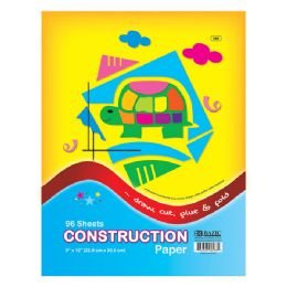 "24 Units of 96 Ct. 9"" X 12"" Construction Paper - Paper"