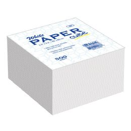 48 Units of 85mm X 85mm 500 Ct. White Paper Cube - Paper