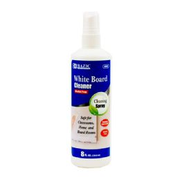 12 Units of 8 Oz. White Board Cleaner - Dry Erase