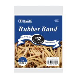 36 Units of 2 Oz./ 56.70 g #32 Rubber Bands - Rubber Bands