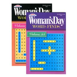 24 Units of KAPPA Woman's Day Word Finds Puzzle Book-Digest Size - Crosswords, Dictionaries, Puzzle books
