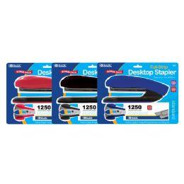 12 Units of Desktop Full Strip Stapler Set - Staples and Staplers