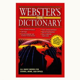48 Units of WEBSTER Jumbo 320 Pg. English-English Dictionary - Crosswords, Dictionaries, Puzzle books