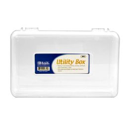 24 Units of Clear Multipurpose Utility Box - Pencil Boxes & Pouches