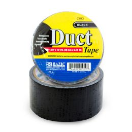 "36 Units of 1.88"" X 10 Yards Black Duct Tape - Tape"