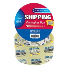 "36 Units of 1.88"" x 54.6 Yards Super Clear Heavy Duty Packing Tape - Tape"