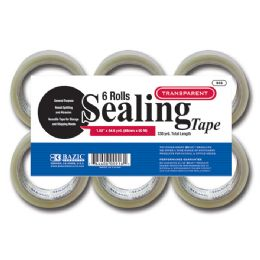 "6 Units of 1.88"" X 55.6 Yards Clear Packing Tape (6/pack) - Tape"