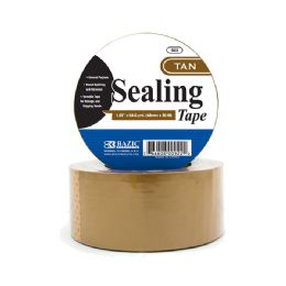 """36 Units of 1.88"""" X 54.6 Yards Tan Packing Tape - Tape"""