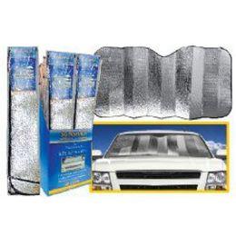 60 Units of 57X27 INCH FOIL SUN AUTO SHADE SUV TRUCK FITS TRUCKS SUVS - Auto Sunshades and Mats
