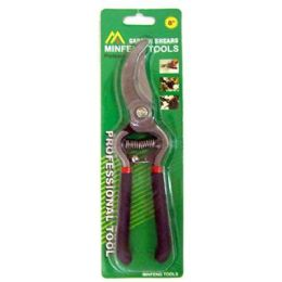60 Units of GARDEN PRUNNING SHEAR 8.5 INCH SPRING LOADED SOFT HANDLE - Garden Tools