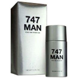 24 Units of 747 Man For Men 3.4oz 100ml Sandora Collection - Perfumes and Cologne