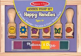 6 Units of Happy Handle Stamp Set - Baby Toys
