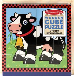 6 Units of Cube Puzzle Assortment - Puzzles