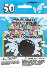 8 Units of 50 Cannon Waterbomb Balloons - Balloons & Balloon Holder