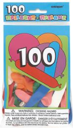 24 Units of Party Balloon 100Ct - Balloons & Balloon Holder