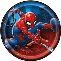 12 Units of Spiderman 7In Plate 8Ct - Disposable Plates & Bowls