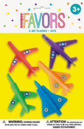 12 Units of 5 Jet Planes Favors - Party Favors