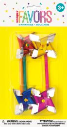 12 Units of 4 Pinwheel Favors - Party Favors