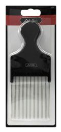 24 Units of Ace Hair Pick Comb - Hair Brushes & Combs