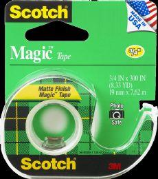 24 Units of Tape Scotch Magic 3/4 X 300 - Tape & Tape Dispensers