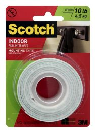 12 Units of Scotch Indoor Mounting Tape - Tape & Tape Dispensers
