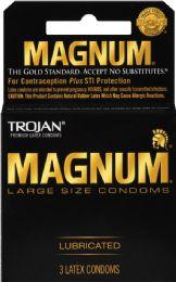 12 Units of Trojan Magnum 3Ct - Medical Supply