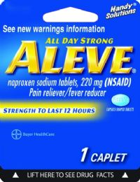 12 Units of Aleve 1Ct - Pain and Allergy Relief