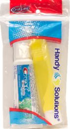 24 Units of Crest Scope Tp Trvl Tb Combo - Toothbrushes and Toothpaste