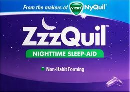12 Units of Zzzquil 2Ct Liquid Cap - Pain and Allergy Relief