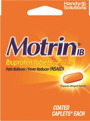 12 Units of Motrin 4Ct Tablets - Pain and Allergy Relief