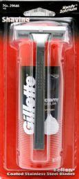 24 Units of Gillette Foamy W Razor - Shaving Razors