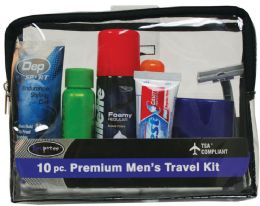 12 Units of Mens Premium Travel 6Ct Dply - Personal Care