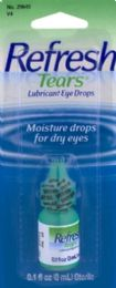 12 Units of Refresh Tears 3Ml Eye Drops - Personal Care
